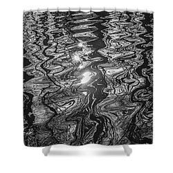 Liquid Light Shower Curtain