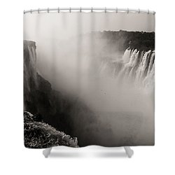 Liquid Mordor Shower Curtain