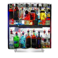 Liquor Cabinet Shower Curtain