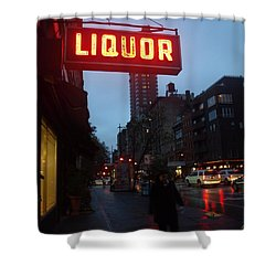 Liquor Shower Curtain