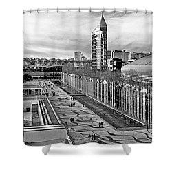 Lisboa - Portugal - Parque Das Nacoes Shower Curtain