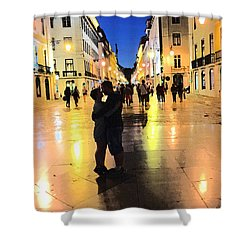Lisbon Love Shower Curtain by Tom Wurl