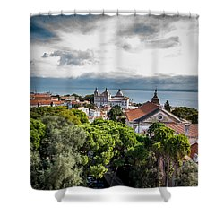 Lisbon Overlook Shower Curtain