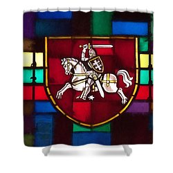 Lithuania Coat Of Arms Shower Curtain