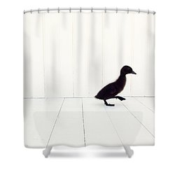 Little Shower Curtain by Amy Tyler