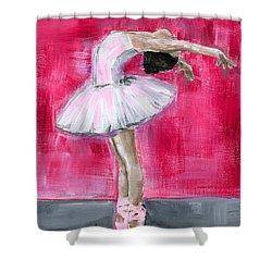 Little Ballerina #2 Shower Curtain