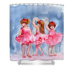 Little Ballerinas Shower Curtain