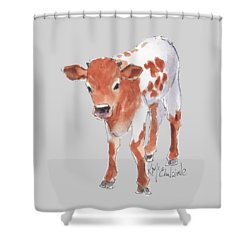 Little Beau April 2017 By Kathleen Mcelwaine Shower Curtain