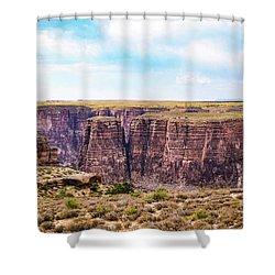 Little Canyon Shower Curtain