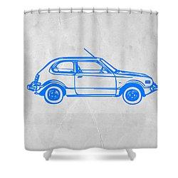 Little Car Shower Curtain