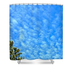 Little Clouds Shower Curtain
