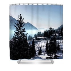 Shower Curtain featuring the photograph Little Cottonwood Canyon by Jim Hill