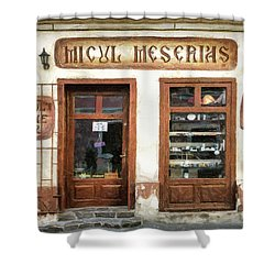 Little Craftsman' Shop - Micul Meserias Shower Curtain
