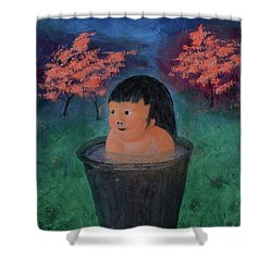 Little Darling Happiness Shower Curtain