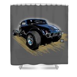 Little Deuce Coupe Shower Curtain