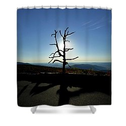 Shower Curtain featuring the photograph Little Devil Stairs Overlook by Robert Geary
