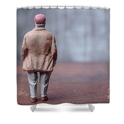 Fat Guy Shower Curtains | Fine Art America
