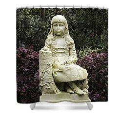 Little Gracie Bonaventure Cemetery Shower Curtain