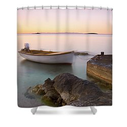 Shower Curtain featuring the photograph Little Haven by Davor Zerjav