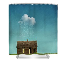 Shower Curtain featuring the photograph Little House Of Sorrow by Juli Scalzi