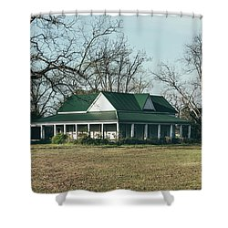 Shower Curtain featuring the photograph Little House On The Prairie by Kim Hojnacki