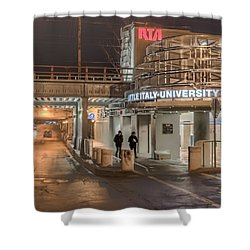 Little Italy Rta Shower Curtain by Brent Durken