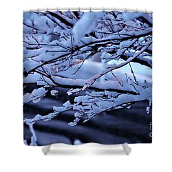 Little Light Make Me Smile  Shower Curtain