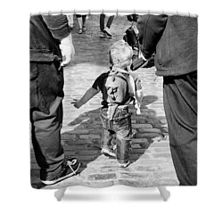Little Man Shower Curtain