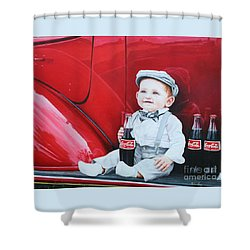 Little Mason Shower Curtain