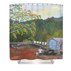 Little Paradise Shower Curtain