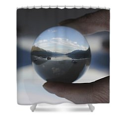 Shower Curtain featuring the photograph Little Peace Of Heaven by Cathie Douglas