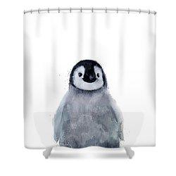 Little Penguin Shower Curtain