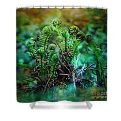 Little Planet Shower Curtain