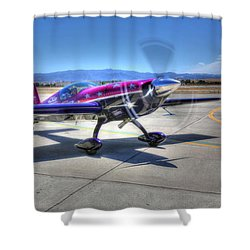 Little Purple And Vickey Benzing Shower Curtain