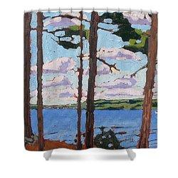 Little Rideau Lake Shower Curtain