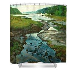 Little River Gloucester Shower Curtain