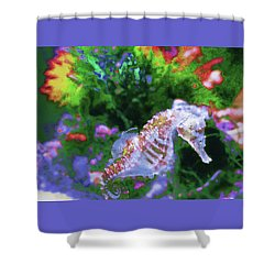 Little Sea Horse Shower Curtain