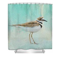 Little Seaside Friend Shower Curtain