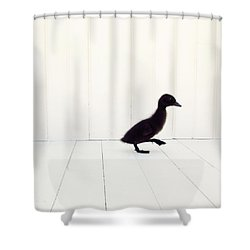 Shower Curtain featuring the photograph Little - Square Version by Amy Tyler