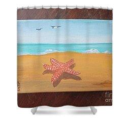 Little Star Fish Shower Curtain