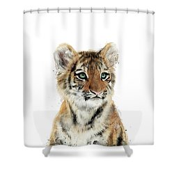 Little Tiger Shower Curtain