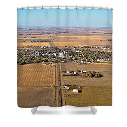 Little Town On The Prairie Shower Curtain