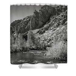 Little Wood River 2 Shower Curtain