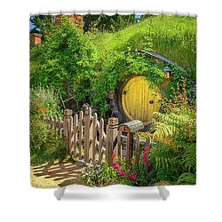 Little Yellow Door Shower Curtain