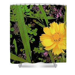 Little Yellow One Shower Curtain