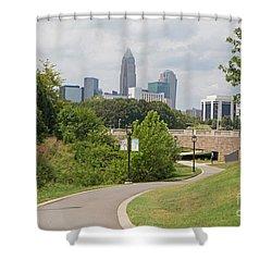 Livable Charlotte Shower Curtain