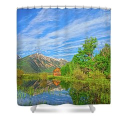 Live As Though You Will Die Tomorrow. Learn As Though You Will Live Forever.  Shower Curtain