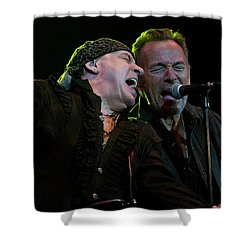 Shower Curtain featuring the photograph Live At The Paramount by Jeff Ross