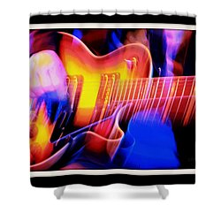 Shower Curtain featuring the photograph Live Music by Chris Berry