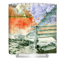 Living Color Shower Curtain